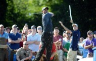 Tiger roars into share of Wyndham lead