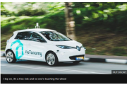 nuTonomy's driverless taxis technology to be extended to 10 more cities by 2020